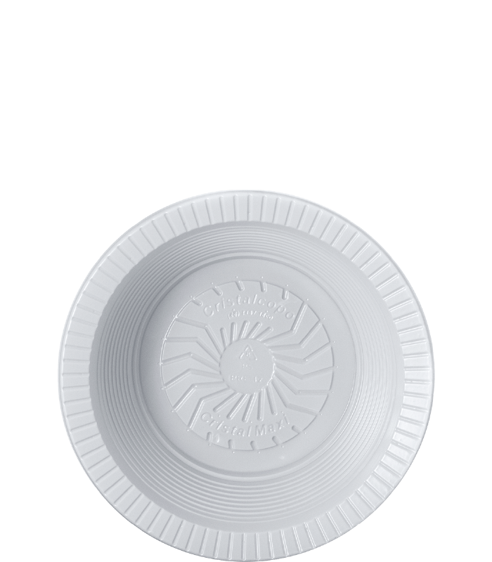 12cm – Fundo – Branco
