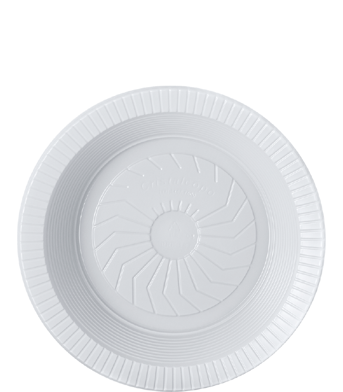 18cm – Fundo – Branco