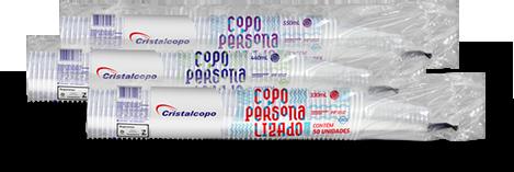 Embalagens dos produtos personalizados