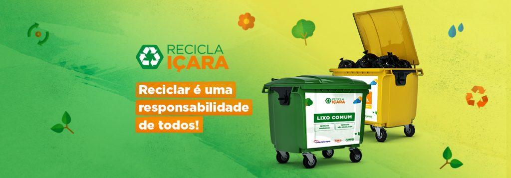 Conheça o projeto Recicla Içara!