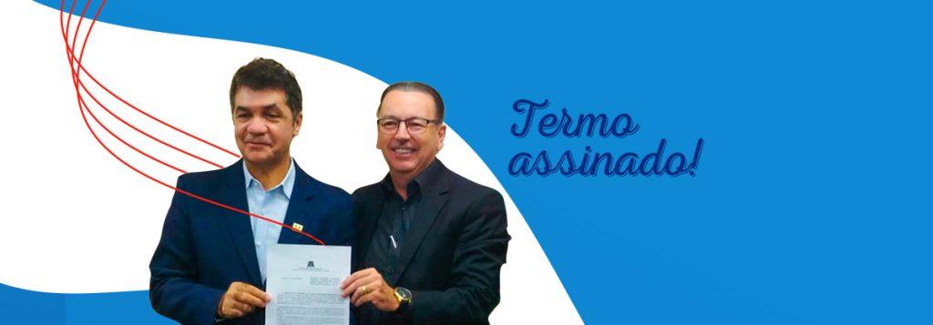Cristalcopo assina Termo de Cooperação junto a Prefeitura de Criciúma!